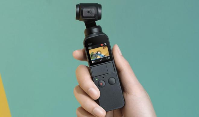 DJI Osmo Pocket: Gimbal mit eingebauter Minikamera