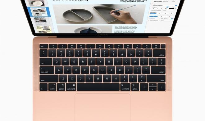 Facetime-Kamera beim MacBook Air 2018 in der Kritik