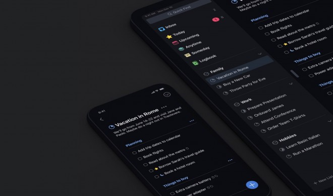 Things 3 für iPhone ab sofort mit zwei Dark Modi