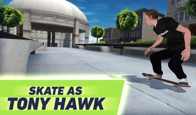 Zurück aufs Board: Tony Hawk skatet auf dem iPhone