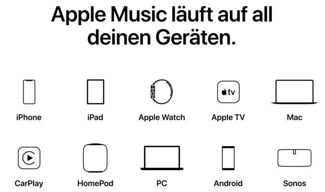 Apple macht Werbung für Amazon Echo