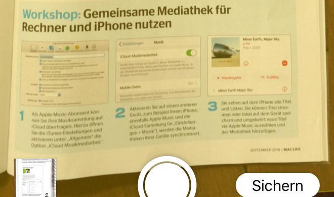 Digitale Notizen noch universeller in macOS Mojave