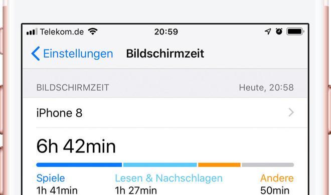 Alles unter Kontrolle: Bildschirmzeit in iOS 12 analysieren und kontrollieren