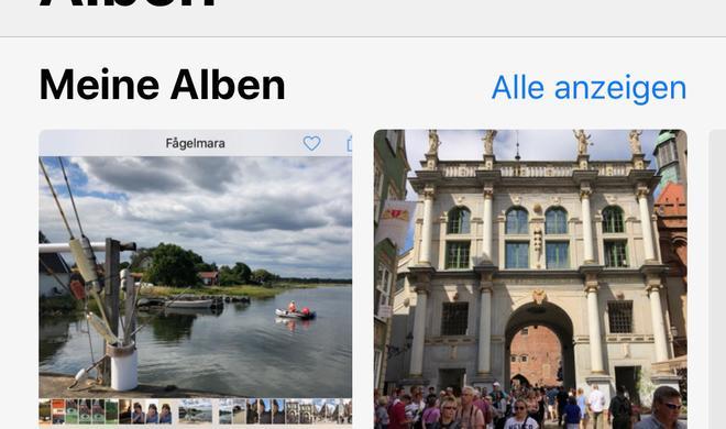 So verwalten Sie Bilder intelligent mit iOS 12