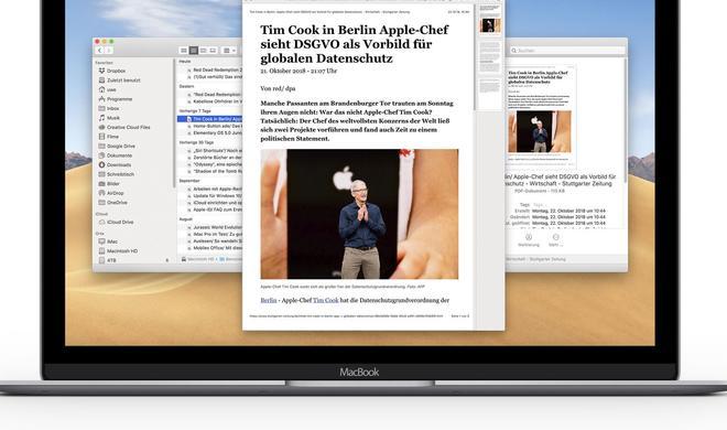 Dateien schnell ansehen und bearbeiten mit Quick Look in macOS 10.14