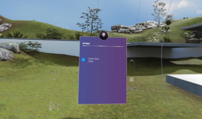 Trend der Gegenseite: Windows 10 packt Apps in eine 3D-Welt