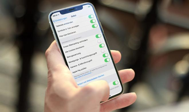 iOS 12.2 sorgt für mehr Privatsphäre in Safari
