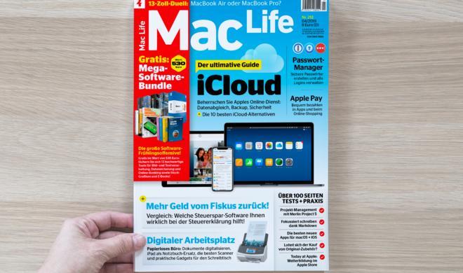 Die neue Mac Life ist da – Mit Mega-Software-Bundle