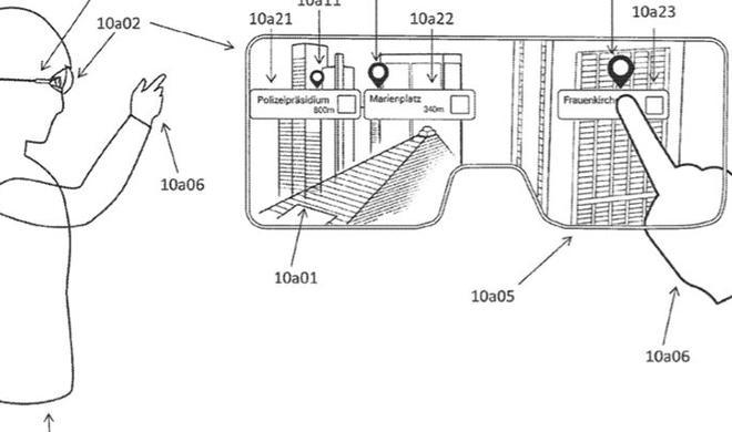 So könnte Apples Augmented Reality-Brille funktionieren