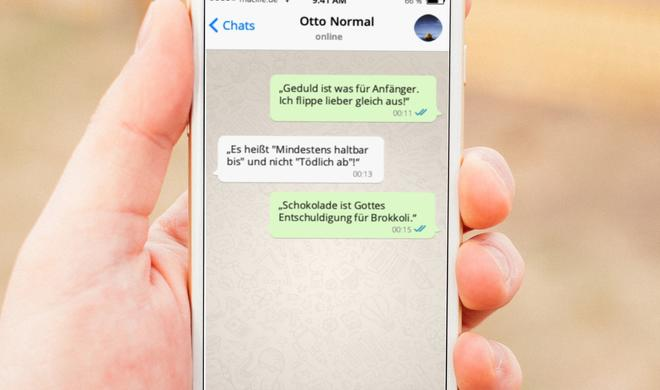 Whatsapp lustige sprüche