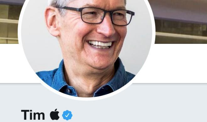 """Tim Cook ändert seinen Twitter-Namen in """"Tim Apple"""""""