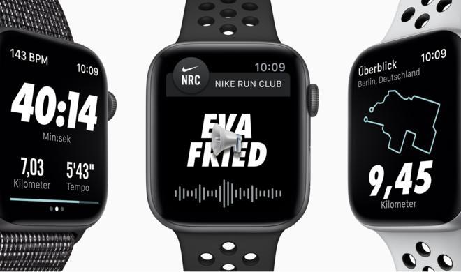 Nike-Armbänder der Apple Watch 4 ab sofort einzeln erhältlich