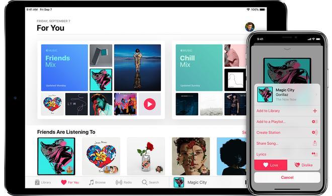 Apple Music soll Spotify bei Abonnenten eingeholt haben
