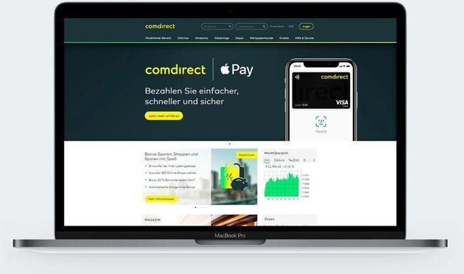 Apple Pay mit der comdirect bank: Mit dem iPhone von der Online- zur mobilen Bank