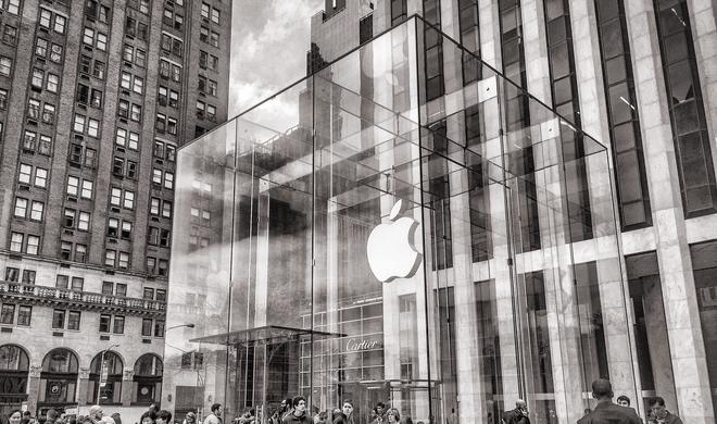 "Apple Store in New York hat ein Problem mit ""Bugs""…"