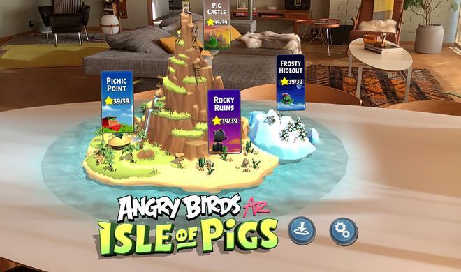 Angry Birds AR: Isle of Pigs im Test - Können sich die Vögel in der realen Welt behaupten?