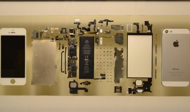 Netzfundstück: So wird das ausrangierte iPhone zum modernen Kunstwerk