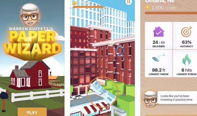 Warren Buffett's Paper Wizard: iOS-Spiel zu Ehren des neuen Investors