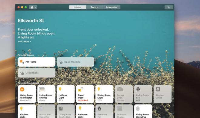 Heimverwaltung am Mac: So gruppieren Sie Geräte und weisen Sie neuen Räumen zu