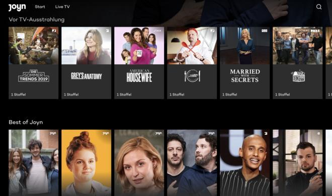 Joyn: Kostenloser Netflix-Konkurrent startet in Deutschland
