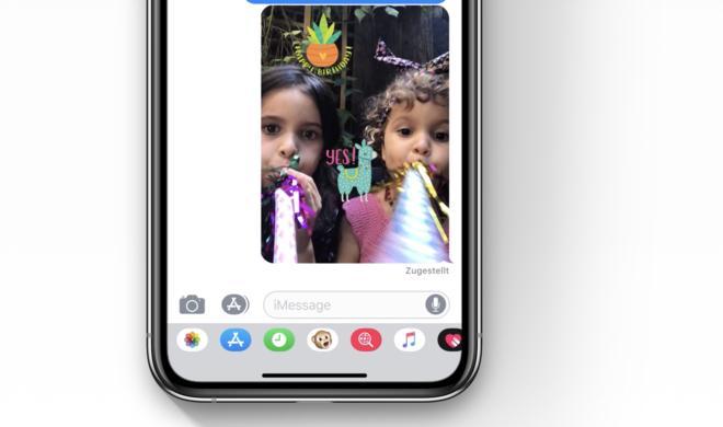 iMessage & FaceTime: So nutzen Sie die coolen neuen Emojis, Animojis, Sticker und vieles mehr