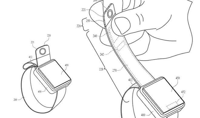 Apple Watch mit Kamera? Apple sichert sich interessantes Patent