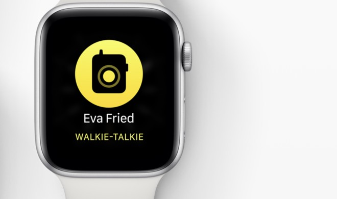 Mithören via Apple Watch: Apple deaktiviert Walkie-Talkie-Funktion