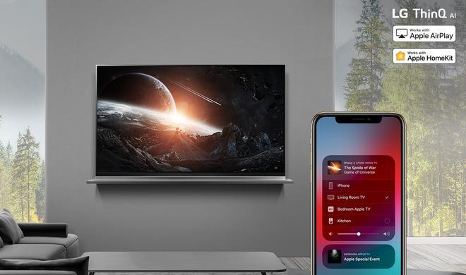 LG Smart TVs: AirPlay 2 und HomeKit könnte auf 2018er Modelle kommen
