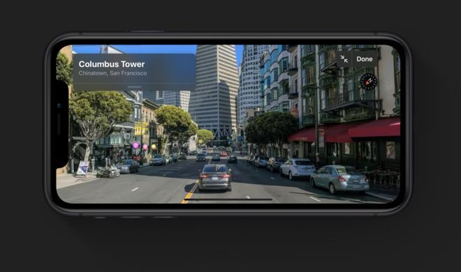 Apple Karten könnte AR als Navigationshilfe nutzen
