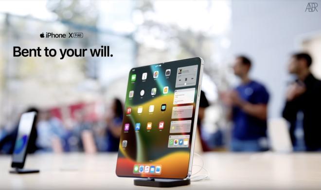 Kommt das faltbare iPad schon 2021?