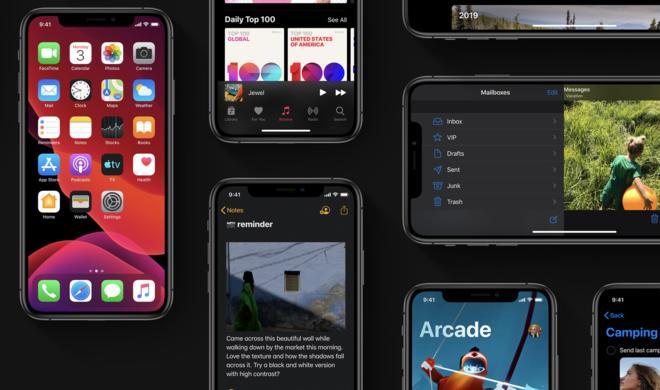 Apple veröffentlicht zweite Beta zu iOS 13.1 und iPadOS 13.1