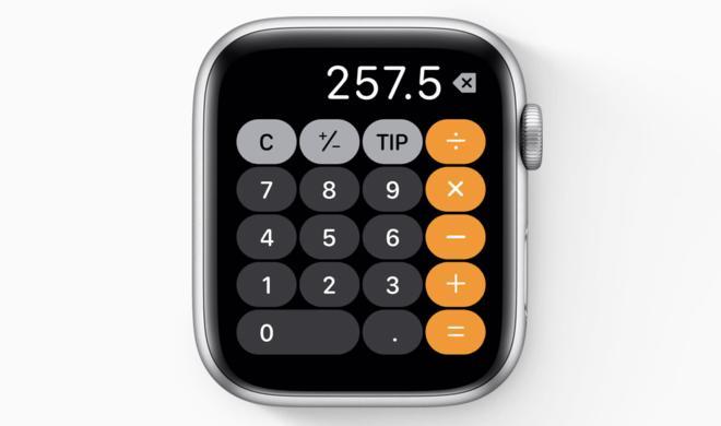 watchOS 6: So bekommen Sie schnellen Zugriff auf den neuen Taschenrechner
