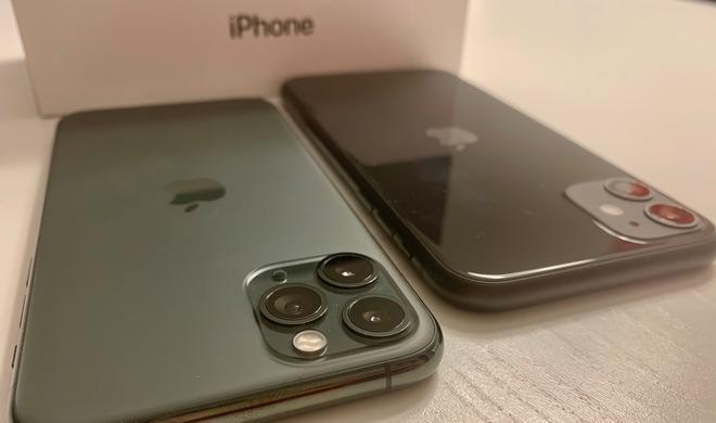 Megatest: iPhone 11 und iPhone 11 Pro – Nicht nur auf Endor sind die iPhones grün