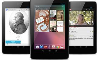 Nexus 7 überholt das iPad