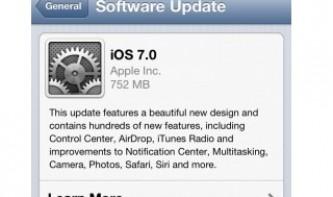 iOS-6-Anwender beschweren sich über aufdringliches iOS-7-Update