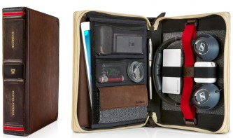 Dicker Wälzer: Twelve South zeigt BookBook Travel Journal für iPad und iPad mini