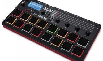 Musikmesse 2014: AKAI MPX16 - Kompakter Controller und Sampler