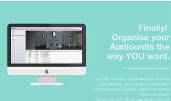 Auganizer: OS-X-App organisiert AudioUnit-Plug-Ins