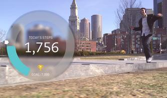 Breeze: Schrittzähler-App für iPhone 5s