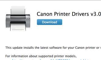 Canon Printer Drivers 3.0: Apple aktualisiert Canon-Druckertreiber für OS X