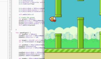 Apples Programmiersprache Swift: Flappy-Bird-Klon und Emoji-Variablennamen