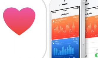 Health-App auf dem iPhone 5s nun mit Schrittzähler