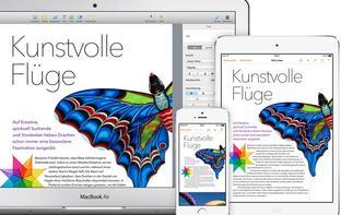iWork-Apps bekommen Updates: Verbesserungen auf dem Weg zu iOS 8 und OS X 10.10
