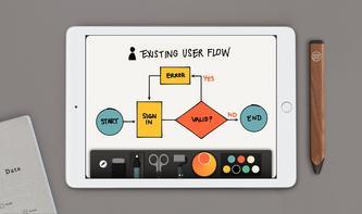 Autokorrektur für Zeichnungen: FiftyThree stellt neue Features in Aussicht