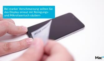 Gewinnspiel: Mac Life verlost 8x GLAZ Display-Schutz für das space-graue iPhone 6