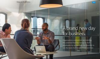 Mac in Business: Apples neuer Webauftritt für Geschäftskunden