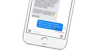 So brichst du notfalls den Versand einer SMS direkt an deinem iPhone ab