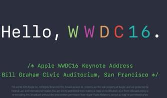 Apples Keynote vom Juni 2016 jetzt als Video-Stream verfügbar
