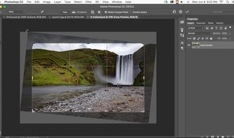 Content-Aware Crop in Photoshop - das rockt