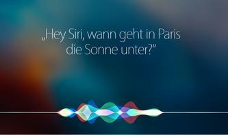 Siri & Apps von Drittanbietern verstehen sich hervorragend